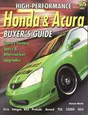 High-Performance Honda and Acura Buyer's Guide