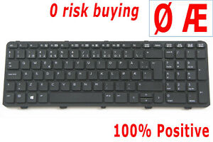 Norwegian Norsk Tstatur NOR Keyboard for HP ProBook 450 470 G0 G1 G2 455 G1 G2