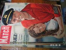 1µ? Revue Paris Match n°383 P.Guillou Grotte Rouffignac M.Dietrich SUEZ Walko