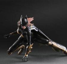Play Arts Kai Batman Arkham Knight: Batgirl Action Figure Toy Doll Model Display