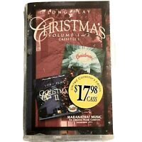 Long Play Christmas Vol 1 & 2 By Various Artists Cassette 1998 Maranatha 2 Tapes
