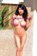 "SELMA TEER 8x12"" Original PHOTO-344  Cambodian Beauty BIKINI"