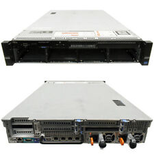 Dell PowerEdge R720 Server 2U H710p mini 2x E5-2670 CPU 32GB RAM 8x3.5 Bay