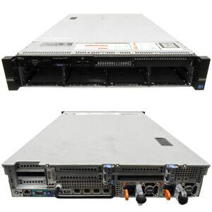 Dell PowerEdge R720 Server 2U H710p mini 2x E5-2670 CPU 32GB RAM 8x3.5 Bay