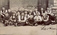 ? Coalville. Haddams Mill Workers. Peter Rowan & George.