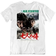 The Seven Samurai Japanese Classic Film Movie Poster T Shirt