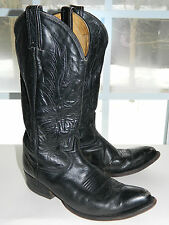 1980's Tony Lama Western Boots / Us Woman's size: 6 1/2 B / Made in Usa / Used