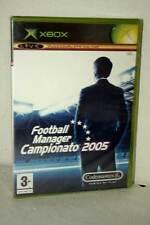 FOOTBALL MANAGER CAMPIONATO 2005 GIOCO NUOVO SIGILLATO XBOX ED ITA PAL MG1 51688