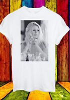 Brigitte Anne-Marie Bardot French Actress Singer Men Women Unisex T-shirt 303