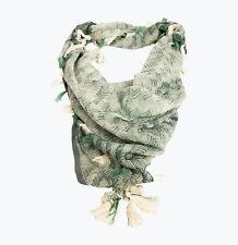 Fishbone- Organic Cotton Scarf