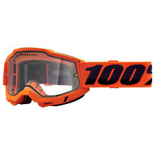 100 Percent Accuri Gen 2 Enduro Goggles Mtb - Orange ~ Clear One Size