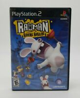 Rayman Raving Rabbids for PlayStation 2 (PS2) Complete Game Very Good Condition