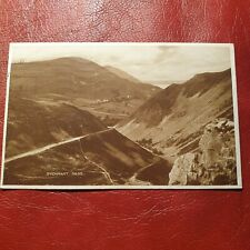 More details for antique 1929 postcard sychnant pass photo brown series postally used