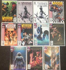 Wolverine #31,32,32,33,34,35,36,37,38,39,40 2005 Marvel (Series 2) X-Men NM