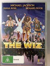 THE WIZ R4 DVD Free Post Michael Jackson Diana Ross Richard Pryor