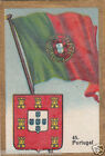 PORTUGAL DRAPEAU FLAG IMAGE CARD 30s