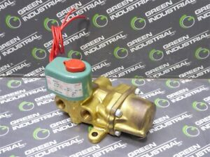 USED ASCO 8344A072 Red Hat Solenoid Valve