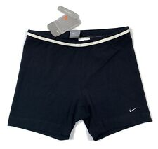 Nike Womens Low Rise Shorts In Black Sz Small 4-6