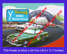 Triang Minic Motorway 1964 A3 Size Poster Shop Display Sign Leaflet Advert