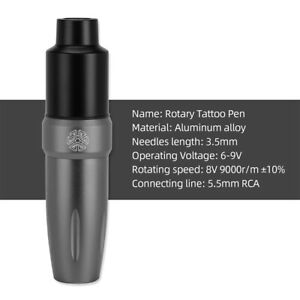 Premium Professional Rotary Tattoo Pen Strong Motor Cartridge Machine Gun