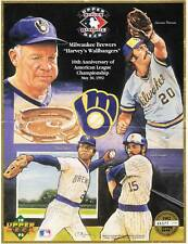 Milwaukee Brewer Commemorative sheet. 1982 AL Champions