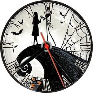 CD wall clock Disney nightmare before Christmas 2 personalized customized