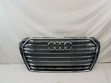 16 17 AUDI A4 S4 QUATTRO FRONT GRILLE P/N 8W0853651BR 2016 2017 OEM