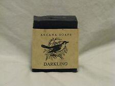 Arcana Soaps 'Darkling' Handmade Bar Soap 4.5oz Beautiful & Rare