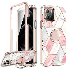 Cute Case iPhone 12 / 12 Pro Max + Ring Kickstand Holder For Girls / Women Cover