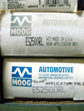 2 Moog ES2500RL Outer Tie Rod Ends Electra LeSabre Park Ave Deville 98 88 Fiero