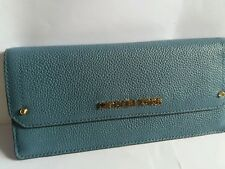 Michael kors hayes slim flat wallet blue