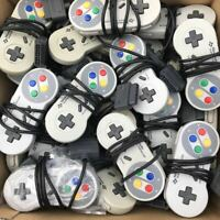 Nintendo Super Famicom SNES controllers Lot of 100 USED Genuine product No check