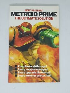 NGC Presents Metroid Prime The Ultimate Solution Magazine 2003 VGC FAST FREE DEL
