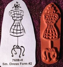 Sml Dress Form #2... - Unmounted Rubber Stamp
