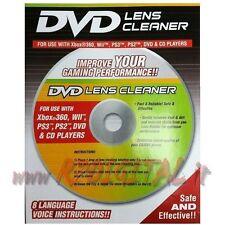 PULISCI LENTE OTTICA LASER PULIZIA CD DVD ROM PC CONSOLE VIDEOGIOCO COMPUTER HD