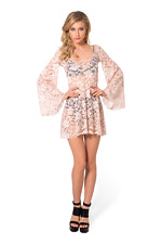 Arabella Blush Dress Black Milk Museum item sold out