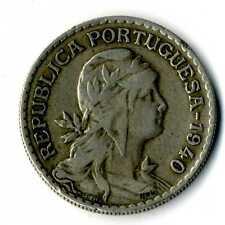 Moneda Republica Portuguesa 1940 1 escudo coin