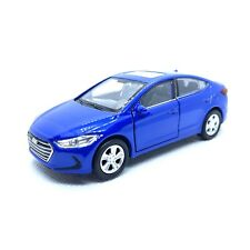 1:36 Hyundai Elantra Diecast Pull Back - BLUE *** RARE *** Ships From USA