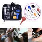 16pcs Watchmaker Watch Link Pin Remover Back Case Opener Repair Tool Kit Set+Bag