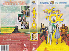 THE WIZARD OF OZ VHS VIDEO TAPE (New and Sealed) <<family classic film>>