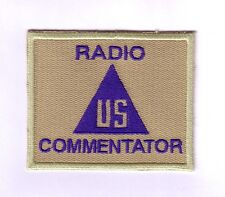 WWII - CIVIL - RADIO COMMENTATOR (Reproduction)