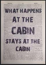 ? qué sucede en la cabina cita Vintage Diccionario Foto Impresión De Esquí Snowboard