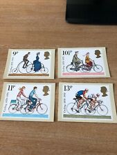 Royal Mail Stamp Post Cards PHQ 31 Cycling 1978 Set