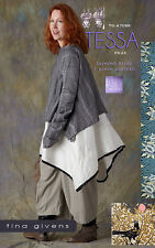 Tessa 3 Pc Set - Sewing Pattern by Tina Givens TG-A7066 Lagenlook Style! XS-2X