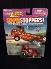 Johnny Lightning Show Stoppers Bill Maverick Golden's Little Red Wagon Wheelie