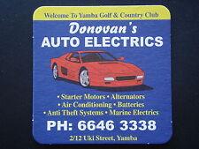 YAMBA GOLF & COUNTRY CLUB DONOVAN'S AUTO ELECTRICS 2/12 UKI ST 66463338 COASTER