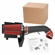 Wrinkle Black Cold Air Intake System Kit fit 99-06 GMC/Chevy V8 4.8L/5.3L/6.0L