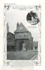 1908 John Jaspers Home, Gatehouse, Rochester, The Nuns House Cloisterham