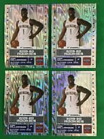 PANINI NBA STICKERS 2019-20 ROOKIE LOT ZION WILLIAMSON NEW ORLEANS PELICANS x 4