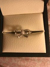 Sterling Silver Bow Ring Size 9